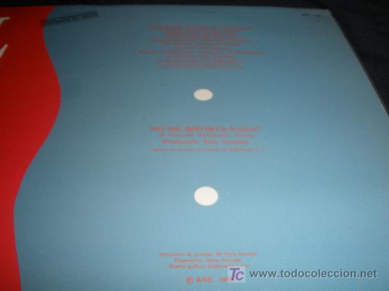 Discos de vinilo: LUZ CASAL. EDICION ESPECIAL RNE. PREMIO MUSICA POP. DIFICILISIMO ENCONTRAR. 1990. NUEVO 45 RPM MAXI - Foto 3 - 34478896