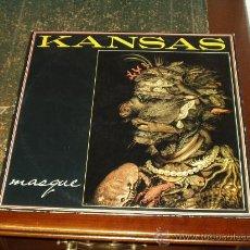 Discos de vinilo: KANSAS LP MASQUE. Lote 162683789