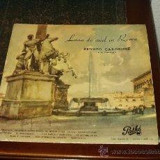Discos de vinilo: RENATO CAROSONE Y SU CUARTETO LP LUNA DE MIEL EN ROMA ORIGINAL FINALES AÑOS 50. Lote 27599940