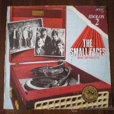 Discos de vinilo: SMALL FACES - IDOLOS 2, SU MEJOR EPOCA - (ESPAÑA-DECCA-1977) MOD ROCK LP. Lote 19692011