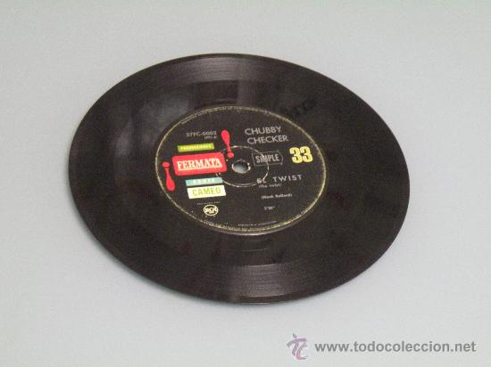 Discos de vinilo: CHUBBY CHECKER EL TWIST ED ARGENTINA FERMATA MUY RARO!! BUDDY HOLLY ELVIS GENE VINCENT EDDIE COCHRAN - Foto 2 - 27254150