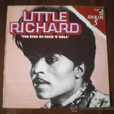 Discos de vinilo: LITTLE RICHARD - IDOLOS 5, THE KING OF ROCK'N'ROLL - (ESPAÑA-DECCA-1978) PROMO - ROCK & ROLL LP. Lote 24617773