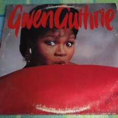 Discos de vinilo: GWEN GUTHRIE ( JUST FOR YOU ) NEW YORK-USA 1985 ISLAND RECORDS. Lote 19697584