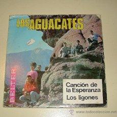 Discos de vinilo: LOS AGUACATES - CANCION DE LA ESPERANZA - BELTER - 1968. Lote 26441330