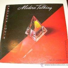 Discos de vinilo: MODERN TALKING - BROTHER LOUIE - MAXI SINGLE - ARILOA DE 1.986. Lote 19711242