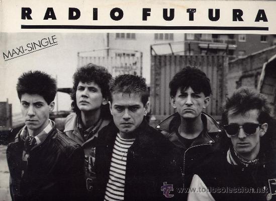 RADIO FUTURA, RADIOFUTURA. MAXI 12´´45 RPM. A CARA O CRUZ+37 GRADOS. ARIOLA AÑO 1987 (Música - Discos de Vinilo - Maxi Singles - Grupos Españoles de los 70 y 80)