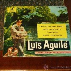 Discos de vinilo: LUIS AGUILE EP CON RITMO DE TWIST+3. Lote 19768881