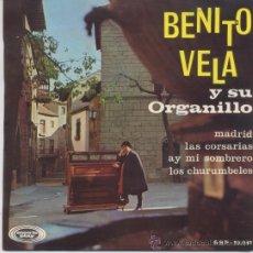 Discos de vinilo: BENITO VELA,MADRID DEL 67. Lote 19779434