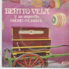 Discos de vinilo: BENITO VELA,MADRID DEL 71. Lote 19780112