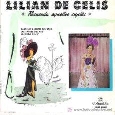 Discos de vinilo: LILIAN DE CELIS - RECUERDA AQUELLOS CUPLES ** COLUMBIA 1969. Lote 19791597