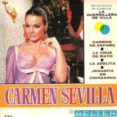 Discos de vinilo: CARMEN SEVILLA - CARMEN DE ESPAÑA ** EP BELTER 1967. Lote 19792705