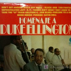 Discos de vinilo: LP-HOMENAJE A DUKE ELLINGTON-12 TEMAZOS DE ESTE MÚSICO INTEMPORAL-IMPRESCINDIBLE. Lote 26701531