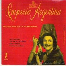 Discos de vinilo: IMPERIO ARGENTINA - LOS PICONEROS ** EP ZAFIRO MONTILLA 1959. Lote 19802605