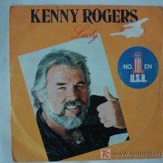 Discos de vinilo: KENNY ROGERS / LADY. Lote 19804371