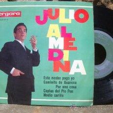 Discos de vinilo: JULIO ALMEDINA: EP 1964 VERGARA 55.0.104 C , DEDICADO Y FIRMADO. Lote 19804478