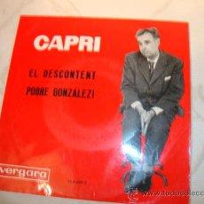 Discos de vinilo: CAPRI, SINGLE.. Lote 19805956