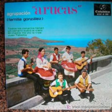 Discos de vinilo: SINGLE AGRUPACIÓN ARUCAS (FAMILIA GONZÁLEZ). ED.COLUMBIA,1966. Lote 25809500
