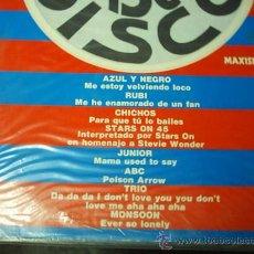 Discos de vinilo: 12 - MAXI DOBLE - VARIOS ARTISTAS - DISCO DISCO. Lote 26792628