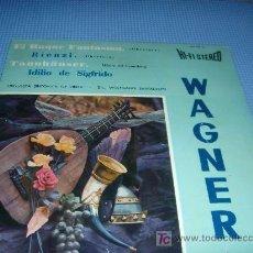 Discos de vinilo: WAGNER - ORQUESTA SINFONICA DE VIENA - LP 1963 - S394. Lote 20778593