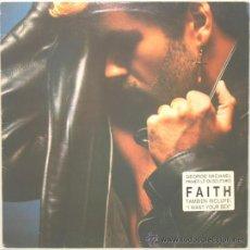 Discos de vinilo: GEORGE MICHAEL FAITH LP EPIC 1987. Lote 19834888