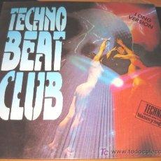 Discos de vinilo: TECHNO BEAT CLUB - 2 LP - BASIC MIX 1991 - THE END / KAMERA / RECALL IV / DJ DICK / CRO2 / OISONIK. Lote 27603925