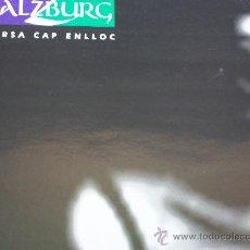 Discos de vinilo: SALZBURG,CURSA CAP ENLLOC DEL 92. Lote 19844228