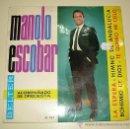 Discos de vinilo: MANOLO ESCOBAR - LA ESPERA , HIMNO DE ANDALUCIA .... BELTER DE 1.964. Lote 21461247
