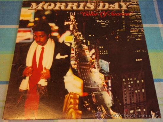 MORRIS DAY ( COLOR OF SUCCESS ) NEW YORK - USA 1986 LP33 WARNER BROS RECORDS (Música - Discos - LP Vinilo - Funk, Soul y Black Music)