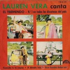 Discos de vinilo: LAUREN VELA - EL TREMENDO - 1972 * VER FOTOS ADICIONALES. Lote 25401706