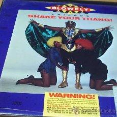 Discos de vinilo: 12 - MAXI. BLOWFLY - SHAKE YOUR THANG. Lote 27116405