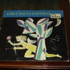 Discos de vinilo: LOS CINCO LATINOS LP SAME ORIGINAL AÑO 59. Lote 27495555
