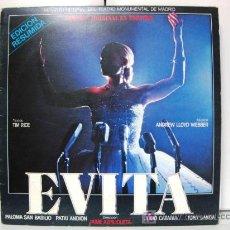 Discos de vinilo: EVITA - VERSIÓN ORIGINAL EN ESPAÑOL (EDICIÓN RESUMIDA) - PALOMA SAN BASILIO - LP EPIC 1981 BPY. Lote 26328038