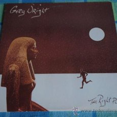 Discos de vinilo: GARY WRIGHT ( THE RIGHT PLACE ) USA 1981-GERMANY LP33 WARNER BROS RECORDS. Lote 19878673