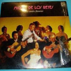 Discos de vinilo: MIGUEL DE LOS REYES Y SU CUADRO FLAMENCO. CAUDAL. 1976. Lote 23729863