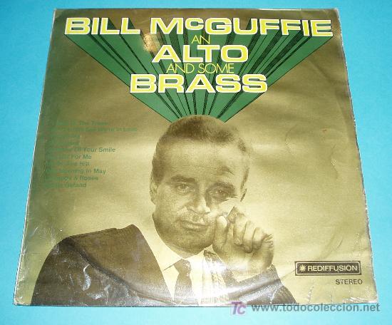 BILL MCGUFFIE (PIANISTA) AN ALTO AND SOME BRASS. REDIFFUSION. 1970 (Música - Discos - LP Vinilo - Orquestas)