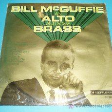 Discos de vinilo: BILL MCGUFFIE (PIANISTA) AN ALTO AND SOME BRASS. REDIFFUSION. 1970. Lote 24604653