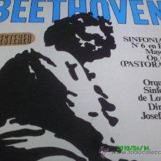 Discos de vinilo: BEETHOVEN- SINFONIA N 6 EN FA MAYOR.OP.68.PASTORAL... DIR.. JOSEF KRIPS... Lote 27013858