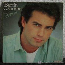 Discos de vinilo: BERTIN OSBORNE - TAL COMO SOY LP. Lote 19965700