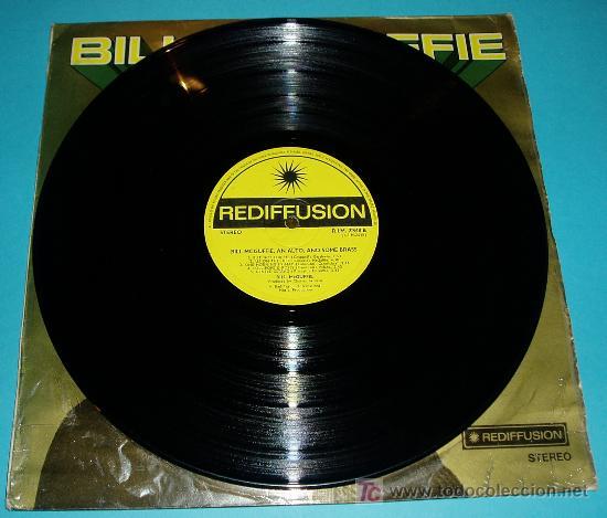 Discos de vinilo: BILL MCGUFFIE (PIANISTA) AN ALTO AND SOME BRASS. REDIFFUSION. 1970 - Foto 4 - 24604653