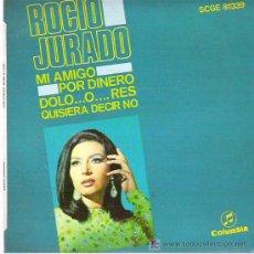Discos de vinilo: ROCIO JURADO - MI AMIGO ** EP COLUMBIA 1968. Lote 19893493