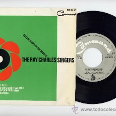 Discos de vinilo: THE RAY CHARLES SINGERS. EP 45 RPM. COMMAND AÑO 1964. Lote 27552275