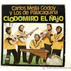 Discos de vinilo: UXV CARLOS MEJIAS GODOY Y LOS DE PALACAGÜINA SINGLE 45 RPM FOLKLORE CATAUTOR NICARAGUA . Lote 23142249