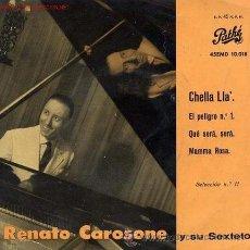 Discos de vinilo: RENATO CAROSONE - CHELLA LLA'. Lote 26483649