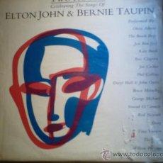 Discos de vinilo: ELTON JHON Y BERNIE TAUPIN.TWO ROONS.LP DOBLE.1991. Lote 19926549
