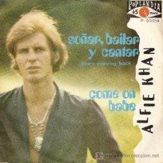 Discos de vinilo: SINGLE - ALFIE KHAN (1970). Lote 19936338