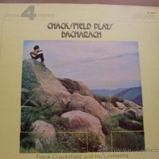 Discos de vinilo: FRANK CHACKSFIELD AND HIS ORCHESTRA - BACHARACH LONDON 1972. Lote 26083401