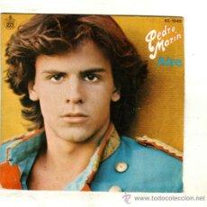 Disques de vinyle: UXV PEDRO MARIN SINGLE 4 RPM 1980 AIRE LETRA EN CARATULA SHA LA LA LA ANIMATE POP CASTELLANO. Lote 240853480