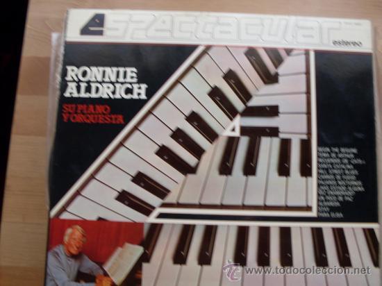 RONNIE ALDRICH ESPECTACULAR - SU PIANO Y ORQUESTA COLUMBIA 1982 (Música - Discos - LP Vinilo - Orquestas)