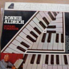 Discos de vinilo: RONNIE ALDRICH ESPECTACULAR - SU PIANO Y ORQUESTA COLUMBIA 1982. Lote 23478167