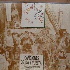 Discos de vinilo: VARIOS - CANCIONES DE IDA Y VUELTA CAJA TAPA DURA CON 3 DISCOS DIAL 1988 - NUEVO A ESTRENAR. Lote 25195675